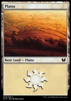 Commander 2015: Plains (323 A)
