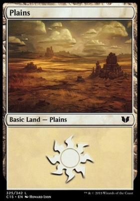 Commander 2015: Plains (325 C)