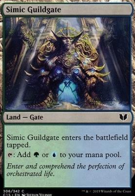 Commander 2015: Simic Guildgate