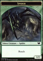Commander 2015: Spider Token - Saproling Token