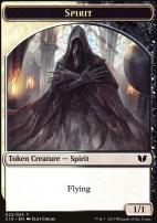 Commander 2015: Spirit Token - Angel Token (BW - White (Childs))