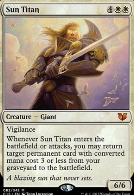 Commander 2015: Sun Titan
