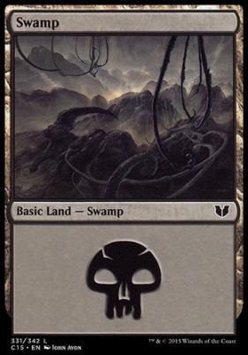 Commander 2015: Swamp (331 A)