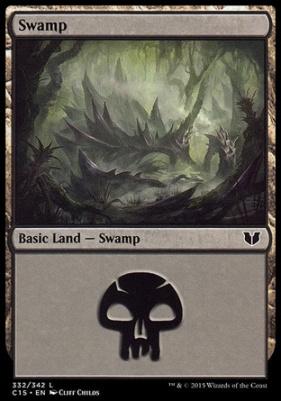 Commander 2015: Swamp (332 B)