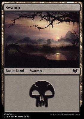 Commander 2015: Swamp (333 C)