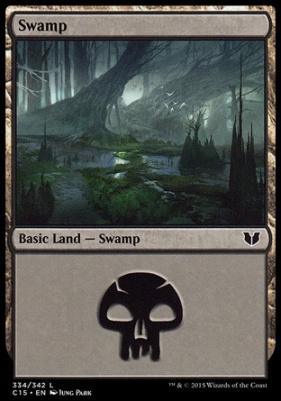 Commander 2015: Swamp (334 D)