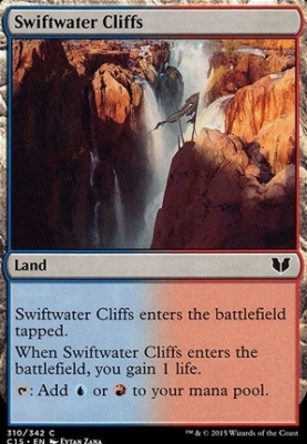 Commander 2015: Swiftwater Cliffs