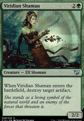 Commander 2015: Viridian Shaman