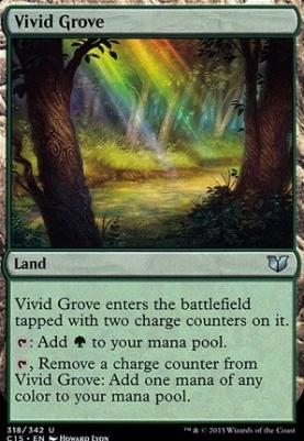 Commander 2015: Vivid Grove