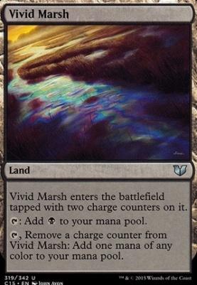 Commander 2015: Vivid Marsh