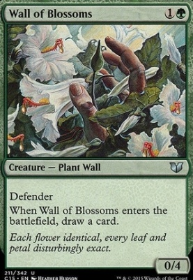 Commander 2015: Wall of Blossoms