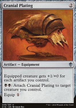 Commander 2016: Cranial Plating