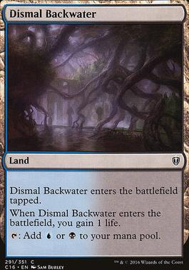 Commander 2016: Dismal Backwater