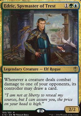 Commander 2016: Edric, Spymaster of Trest