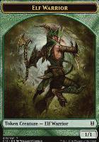 Commander 2016: Elf Warrior Token - Zombie Token