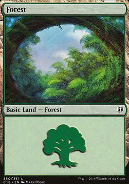 Commander 2016: Forest (350 B)