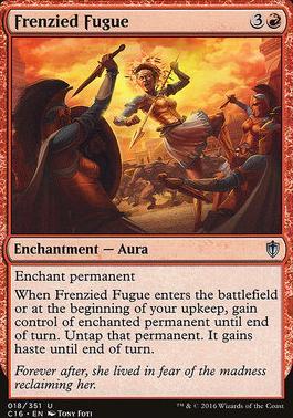 Commander 2016: Frenzied Fugue