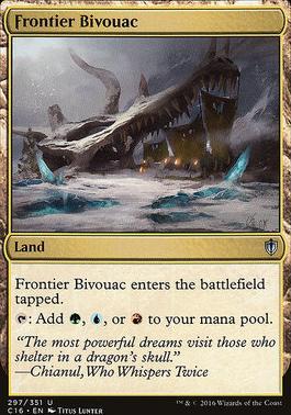 Commander 2016: Frontier Bivouac