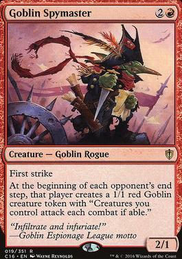 Commander 2016: Goblin Spymaster