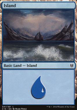 Commander 2016: Island (341 B)