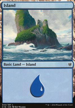 Commander 2016: Island (342 C)