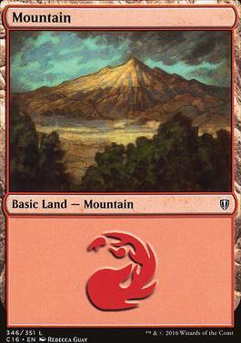 Commander 2016: Mountain (346 A)