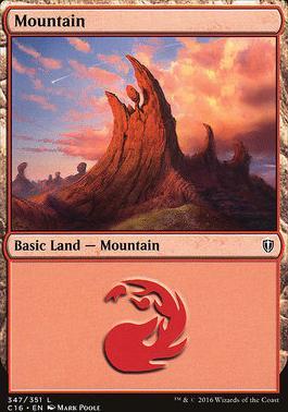 Commander 2016: Mountain (347 B)