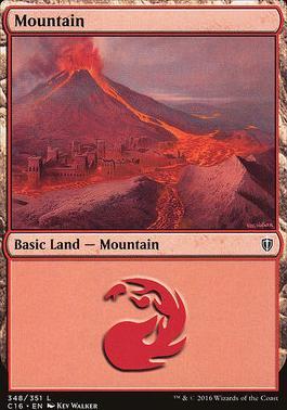 Commander 2016: Mountain (348 C)