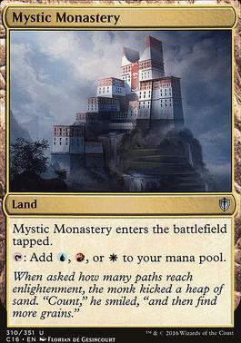 Commander 2016: Mystic Monastery