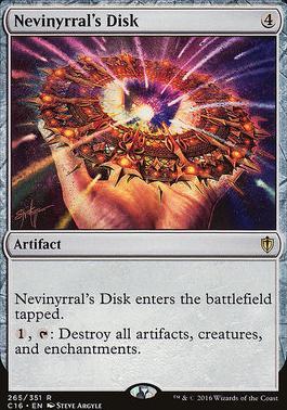 Commander 2016: Nevinyrral's Disk