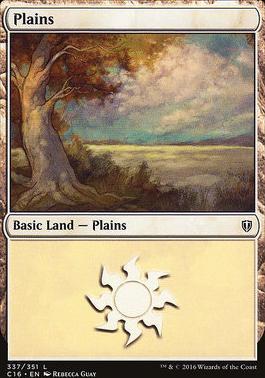 Commander 2016: Plains (337 A)