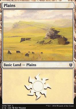 Commander 2016: Plains (339 C)