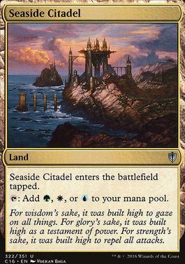 Commander 2016: Seaside Citadel