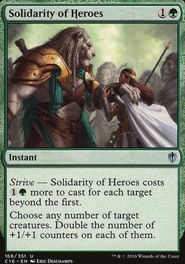 Commander 2016: Solidarity of Heroes