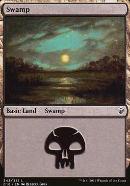 Commander 2016: Swamp (343 A)