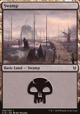 Commander 2016: Swamp (345 C)