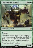 Commander 2016: Thunderfoot Baloth