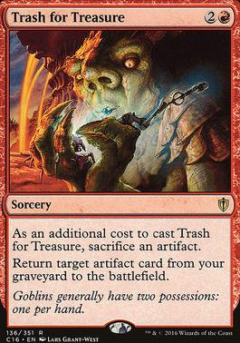 Commander 2016: Trash for Treasure