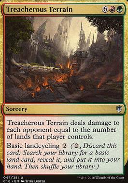 Commander 2016: Treacherous Terrain