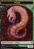 Commander 2016: Worm Token - Zombie Token