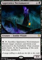 Commander 2017: Apprentice Necromancer