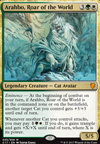 Commander 2017: Arahbo, Roar of the World (Foil)