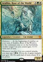 Commander 2017: Arahbo, Roar of the World