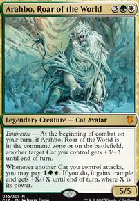 Commander 2017: Arahbo, Roar of the World (Oversized Foil)