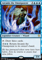 Commander 2017: Arcanis the Omnipotent