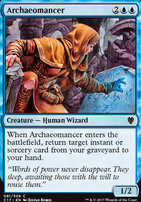 Commander 2017: Archaeomancer