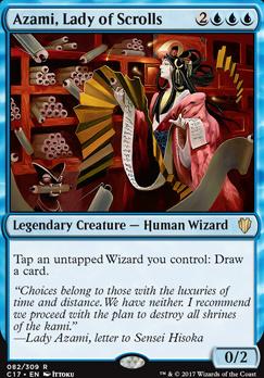 Commander 2017: Azami, Lady of Scrolls