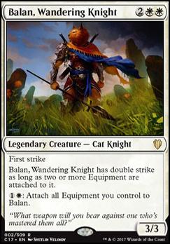 Commander 2017: Balan, Wandering Knight