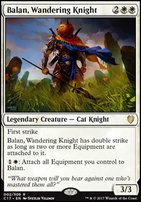 Commander 2017: Balan, Wandering Knight