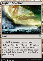 Commander 2017: Blighted Woodland
